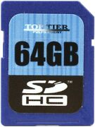 Top Tier Sdhc Card 64 Gb, Class 10 12-pack Value Bundle