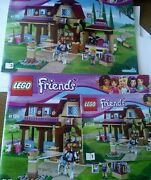 Lego Friends 41126 Heartlake Riding Club Playset 3 Instruction Booklets Only