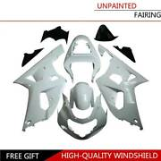 Abs Motocycle Cowl Bodywork Injection Fairing Kit For Suzuki Gsxr600 750 2001-03