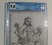 Walking Dead 19 Cgc 9.8 E Variant 15th Anniversary Sketch White Pages Image
