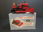 Dinky Supertoys 961 Blaw Knox Bulldozer Red Mint In Box England
