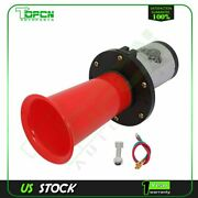 Antique Vintage Classic Old Car Air Horn Ooga Sound For Car Suv Red