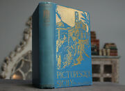 Rare Antique Old Book Sicily Italy 1897 By Paton Illustrated Scarce Europe
