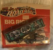 Rare Vintage Sears Road Mates Truck Big Rigs Usa Save Our Wildlife 1970's Toy