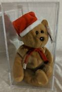 Ty Beanie Babies 1997 Teddy 4200 Mint Condition With Tag Protector Errors