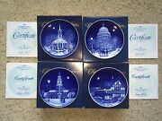 Bing And Grondahl Christmas In America Plate Series 1989-1992