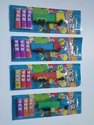 Set Of 4 Pez Dispensers Trucks New With Packaging No Feet Fixed Wheels