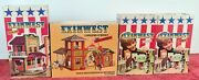 Exinwest. Construction Game. Lot Of 4 Boxes. See Description. Years 70/80.