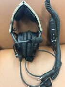 Bose Aviation X Headset Ahx-32-01 Helicopter Plug W/dual G/a Plugs