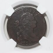 1798 Draped Bust Large Cent Graded By Ngc