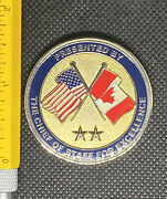 Norad Canr Canada Us Hq Chief Of Staff Challenge Coin