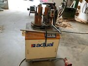 Actual Up-cut Saw W/ Clamps No. A-100s