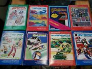 Intellivision Video Game Huge Lot Most With Inlays And Manuals.