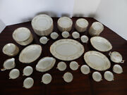 Charline 102-piece China Dinnerware Set By Imperial Made In Japan Late 1800s