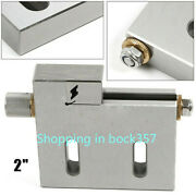 1pc Cnc Wire Edm 2 Vise Clamping High Precision 50mm Jaw Clamp Tool 3kg New