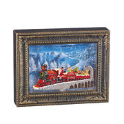 Raz Imports 10 Santa Express Lighted Water Picture Frame