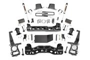 Rough Country 6in Ford Lift Kit|strut Spacers And V2 Shocks 09-10 F-150 4wd