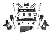 Rough Country 5in Gm Suspension Lift Kit W/v2 Shocks And Struts 07-13 1500 Pu