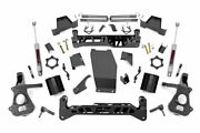 Rough Country 7in Gm Suspension Lift Kit 14-18 1500 Pu 4wd | Cast Steel