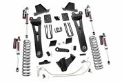Rough Country 6in Ford Radius Arm Lift Kit|vertex 11-14 F-250|overloads