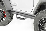 Rough Country For Jeep Wheel To Wheel Nerf Steps 18-20 Jl Wrangler 2-door