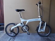 Riese And Manduumlller Birdy Bd-1 / 7 Speed / White Color / Used Folding Bike