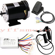 48v Dc 1000w Brush Electric Motor Controller Foot Pedal For Scooter Bicycle Atv