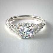 0.84 Ct Brand New Natural Diamond Engagement Rings In 950 Platinum Size 6 7 8 9