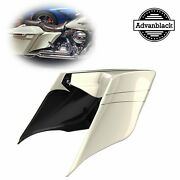 Morocco Gold Pearl Stretched Extend Side Cover Pinstripe For 14+ Harley Davidson