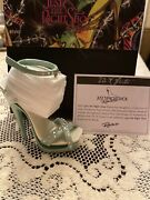 Rare Just The Right Shoe By Raine Shoe Miniatures- The X Factor - Nib -signed
