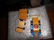 Vintage Mattel 1070's Toy Car And Train Wood And Plastic