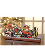 Mr. Christmas Animated Musical Santaand039s Express And Working Smokestack 20 Songs A