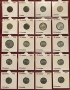 Austria Coin Collection Lot - 119 Great Coinsandnbsp 1894 Thru Today All 2x2 Carded