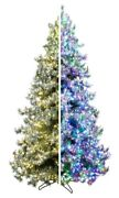 9and039 Forevertree Iced Layered Aspen Pine Color Changing With Remote