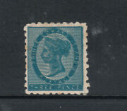Edward Island 2b Very Fine Mint Double Impression With Certificate