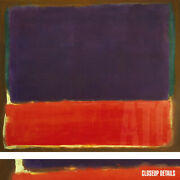 38wx34h No 14 1951 By Mark Rothko - Mauve Purple Red Yellow Choices Of Canvas