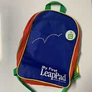 My First Leap Pad Leapfrog Learning System Backpack Carry Bag Only