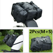 10l+20l Motorcycle Tail Storage Backpack Pvc And Pu Coating Rear Bag Storages