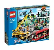 Brand New Lego City 60026 Town Square Toys R Us Exclusive Factory Sealed