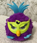 Furby Party Rockers Creature Fussby Purple - Responds To Your Voice And Music