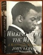 Walking With The Wind, By John Lewis Inscribed