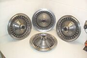 71 72 73 74 75 76 77 78 Dodge Plymouth Wire Wheel Covers/hubcaps Set Of 4 Mopar