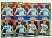 2018 Prizm World Cup Germany Joshua Kimmich Red Mosaic, Red And Blue And Base Cards