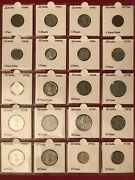 India Coin Lotandnbsp 1954-2009 144 Excellent Collectible Coins All 2x2 Carded