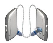 Pair Of Gn Resound One 9 Or 7 Size 13 Battery Bluetooth Mandrie Hearing Aids