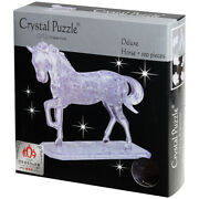 New Games 3d Crystal Jigsaw Puzzle Deluxe Horse 100pce