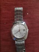 Vintage Seiko Automatic 7019-7120 Mens 39mm Watch