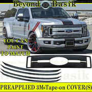 2017 2018 2019 Ford F250xl And Xlt Only Unpainted Grille Grill Cover Overlay