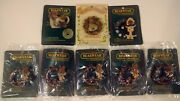 Boyd's Bears And Friends Bearwear Pins Lot Of 8 All New W/cards