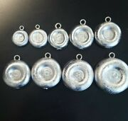 Coin Sinkers Round River Choose Weight 1oz-10oz
